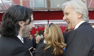 Best director nominees Jason Reitman and James Cameron arrive at the 82nd Academy Awards