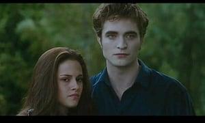 Kristen Stewart and Robert Pattinson in The Twilight Saga: Eclipse
