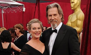 Jeff Bridges and his wife Susan Geston arrive at the 82nd Academy Awards