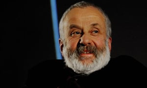 Film director Mike Leigh at the NFT