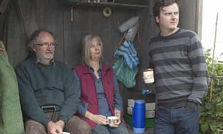 Jim Broadbent, Ruth Sheen and Oliver Maltman in Another Year, directed by Mike Leigh