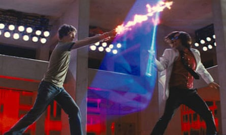 Michael Cera and Jason Schwartzman in Scott Pilgrim Vs the World