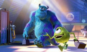 Sulley (John Goodman) and Mike (Billy Crystal) in Monsters Inc