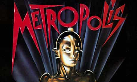 Film poster for Metropolis, directed by Fritz Lang