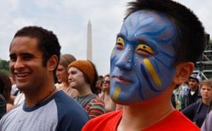 Avatar fan on Earth Day