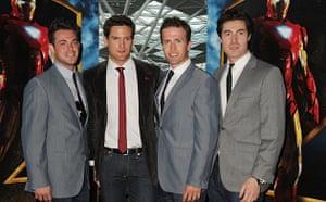 Blake at Iron Man 2 VIP screening at Vue Westfield