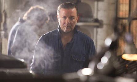 Ricky Gervais in Cemetery Junction