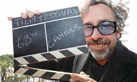Tim Burton, jury president of the 63rd Cannes film festival