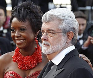 Cannes film festival day6: Cannes screens Wall Street 2: George Lucas and Mellody Hobson