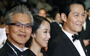 Cannes film festival day6: Im Sang-soo and cast at Cannes premiere of The Housemaid