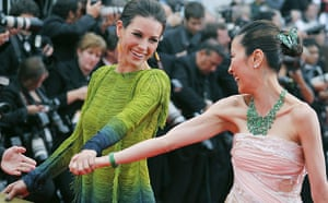 Cannes film festival day6: Evangeline Lilly and Michelle Yeoh in Cannes