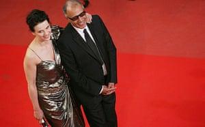 Cannes film festival day8: Juliette Binoche and Abbas Kiarostami at Cannes premiere of Certified Copy