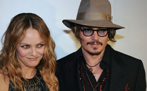 Cannes film festival day8: Vanessa Paradis and Johnny Depp at a dinner in Cannes