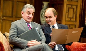 Henry Goodman and David Haig in Yes, Prime Minister