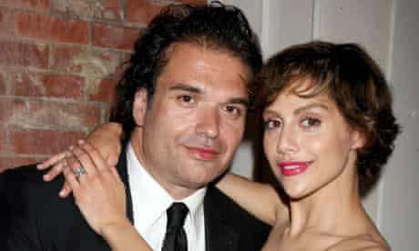 Simon Monjack with his wife Brittany Murphy