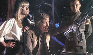 Farrah Fawcett, Kirk Douglas and Harvey Keitel in Saturn 3