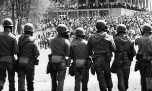 Troops At Kent State
