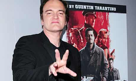 Quentin Tarantino at the Inglourious Basterds DVD release in Los Angeles
