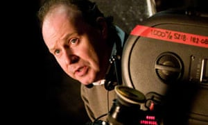 David Yates on the set of Harry Potter and the Order of the Phoenix