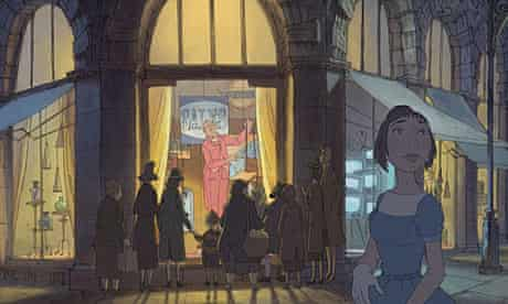 The Illusionist, directed by Sylvain Chomet