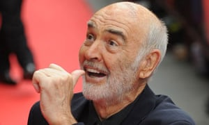 Sean Connery at the opening night of the Edinburgh film festival