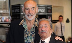 Edinburgh film festival: Sean Connery and Saeed Jaffery at The Man Who Would Be King