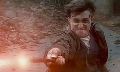 A screengrab from the Harry Potter and the Deathly Hallows trailer