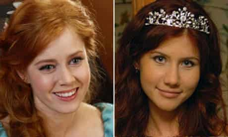 Amy Adams in Enchanted and Anna Chapman on Classmates