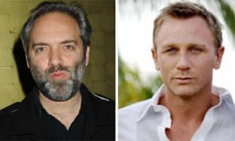 Sam Mendes and Daniel Craig