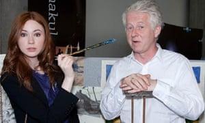 Doctor Who: Richard Curtis and Karen Gillan
