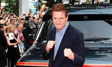 Liam Neeson at The A-Team premiere in London