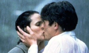 Four Weddings and a Funeral - for clip joint, rain