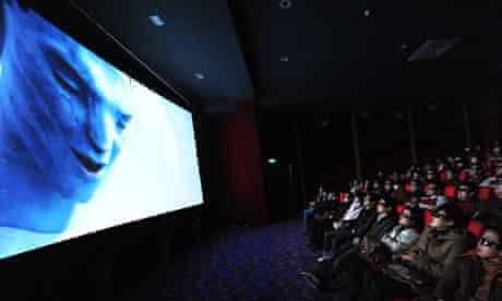 Chinese audience watch Avatar, 2010