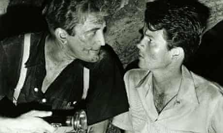Kirk Douglas and Bob Arthur in Ace in the Hole