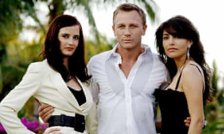 Daniel Craig, Eva Green and Caterina Murino in Casino Royale