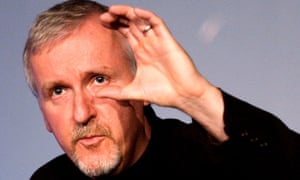 James Cameron during a Guardian / NFT interview.