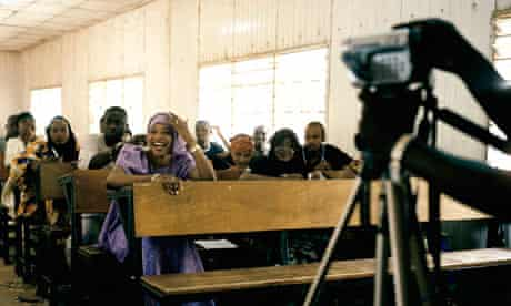 Nollywood Nigerian movie shoot