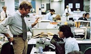 All the President's Men, Robert Redford and Dustin Hoffman