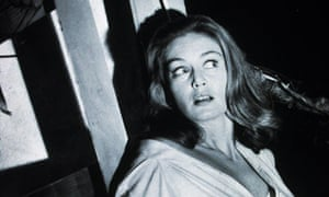Screaming green murder ... Nicole Maurey in the 1962 film The Day of the Triffids.
