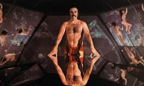 Sean Connery in the film Zardoz (1974)