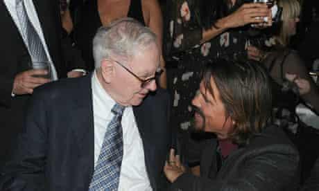 Warren Buffett and Wall Street: Money Never Sleeps star Josh Brolin at the film's premiere.