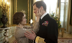Marrying kind ... Helena Bonham Carter and Colin Firth in The King's Speech.