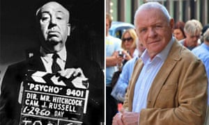 Alfred Hitchcock and Anthony Hopkins