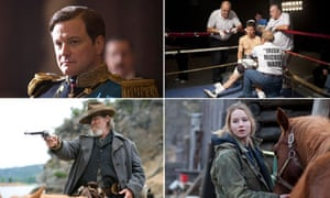Oscar contenders The King's Speech, The Fighter, True Grit and Winter's Bone.