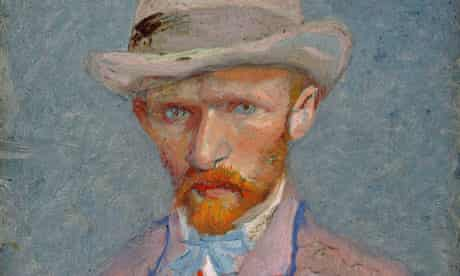 An 1887 self-portrait. The Van Gogh Museum has dismissed claims the artist's death was accidental.