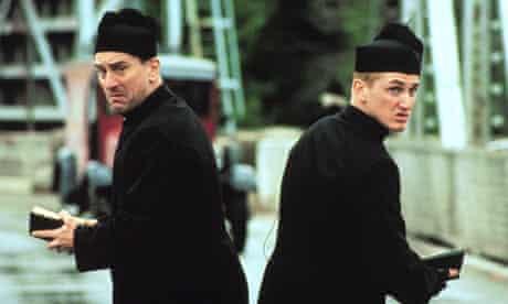 Men in black … Robert De Niro and Sean Penn in 1989 crime comedy We're No Angels.