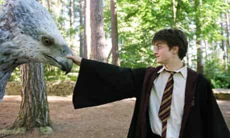 Harry Potter and Buckbeak the Hippogriff