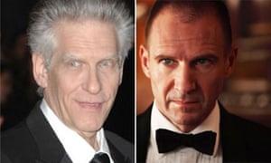 David Cronenberg and Ralph Fiennes