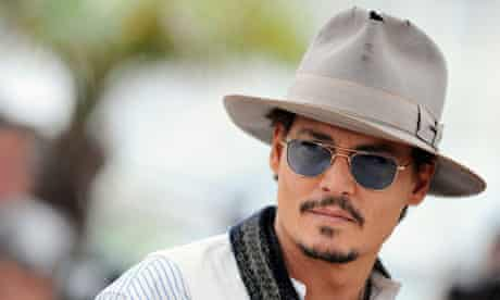 Johnny Depp in Cannes in 2011