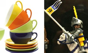 Knight of Cups: some cups and a knight